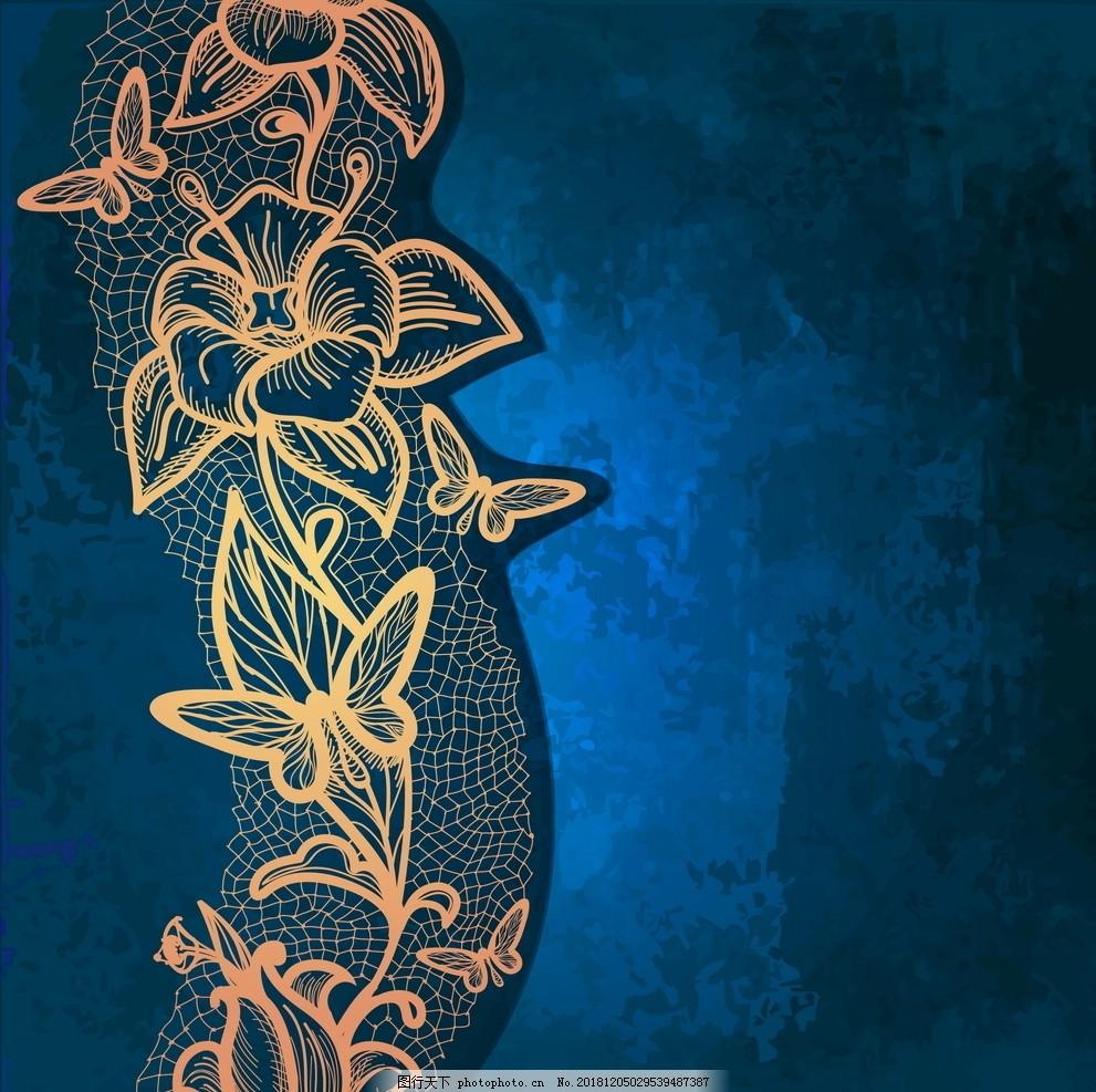 欧式花纹背景,复古背景,条纹背景,黄色背景,黄色复古,海报背景,画册素材